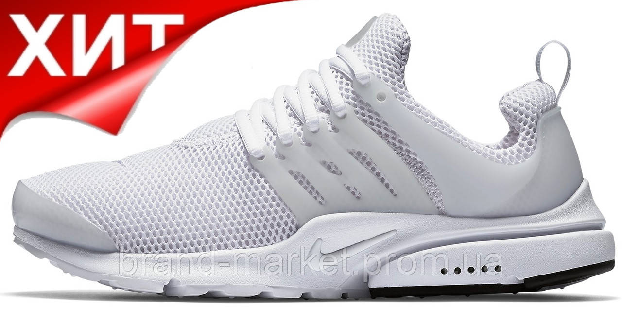 Женские кроссовки Nike Air Presto White (найк аир престо, белые) - Магазин  обуви 041296609ca