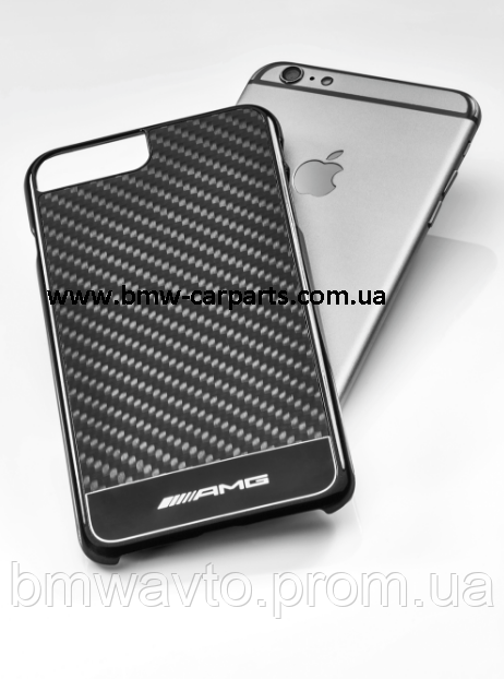 Чехол для iPhone 7/8 Plus Mercedes-Benz Carbon
