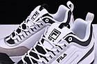 Мужские кроссовки Fila Disruptor 2 Фила Дисраптор 2 белые, фото 6