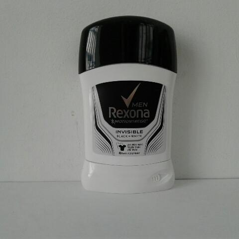 Твердый мужской дезодорант антиперспирант Rexona (Рексона Невидимый на черном и беллом) 50 мл.