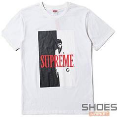 Футболка Supreme Scarface White (ориг.бирка)