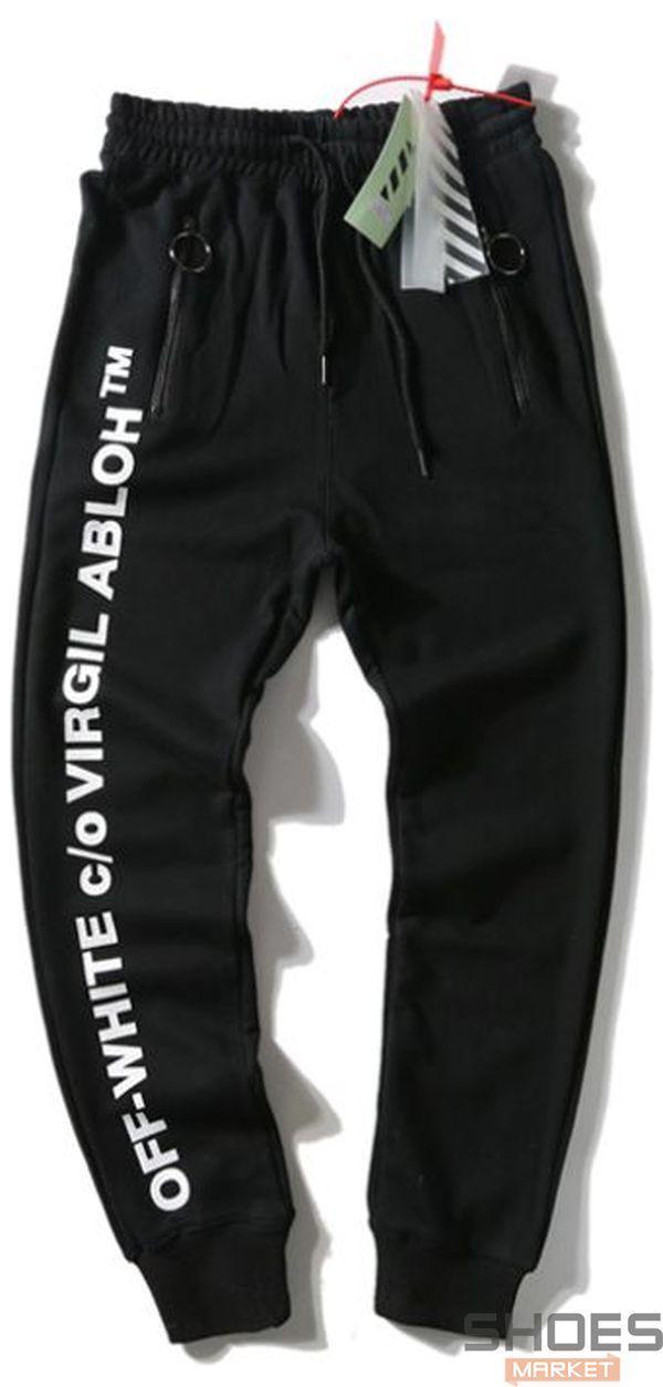 Штаны Off-white Black Virgil Abloh (ориг.бирка)
