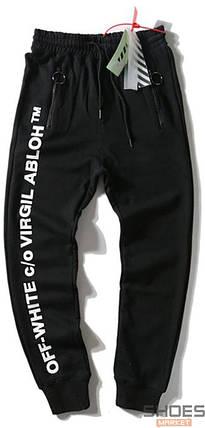 Штаны Off-white Black Virgil Abloh (ориг.бирка), фото 2