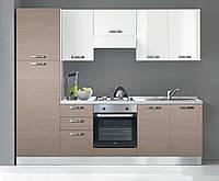 Недорогие итальянские кухни (с бытовой техникой) 255 см 6 вариантов