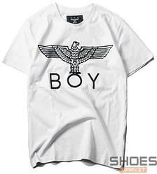 Футболка BOY Front Logo White (ориг.бирка)