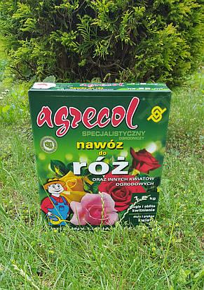 Удобрение Agrecol для РОЗ 1,2кг (гранулированное), фото 2