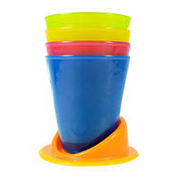 Детские стаканы поильники с подставкой. Непроливайки Fisher-PriceY3536