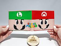 Кошелек вспомни молодость Супер марио Syper Mario игра 90х , фото 1