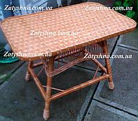 Стол плетеный прямоугольный, фото 1