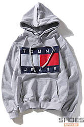 Худи Tommy Jeans Common Grey (ориг.бирка)