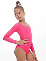 Купальник для танцев и гимнастики детский КОРАЛЛ ( рост 104 - 140см)