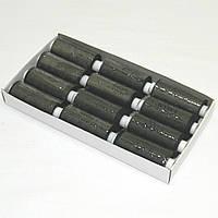 Нитки швейные черные 40/2 400ярдов Kiwi (киви)