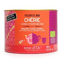 Органический Ройбуш Cherie с ароматом вишни и диких ягод100г, Terre d'Oc