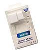 Сетевое зарядное устройство Aspor (A801) с кабелем IPhone