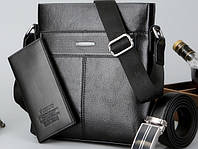 Мужская кожаная сумка. Модель 63298, фото 6