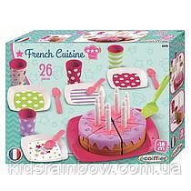 Набор посудки Ecoiffier С Днем Рождения