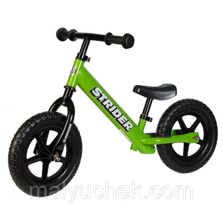 Детский беговел STRIDER Classic Green  ST-M4GN