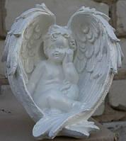 Статуэтка Ангел в крыльях №25. (белый)