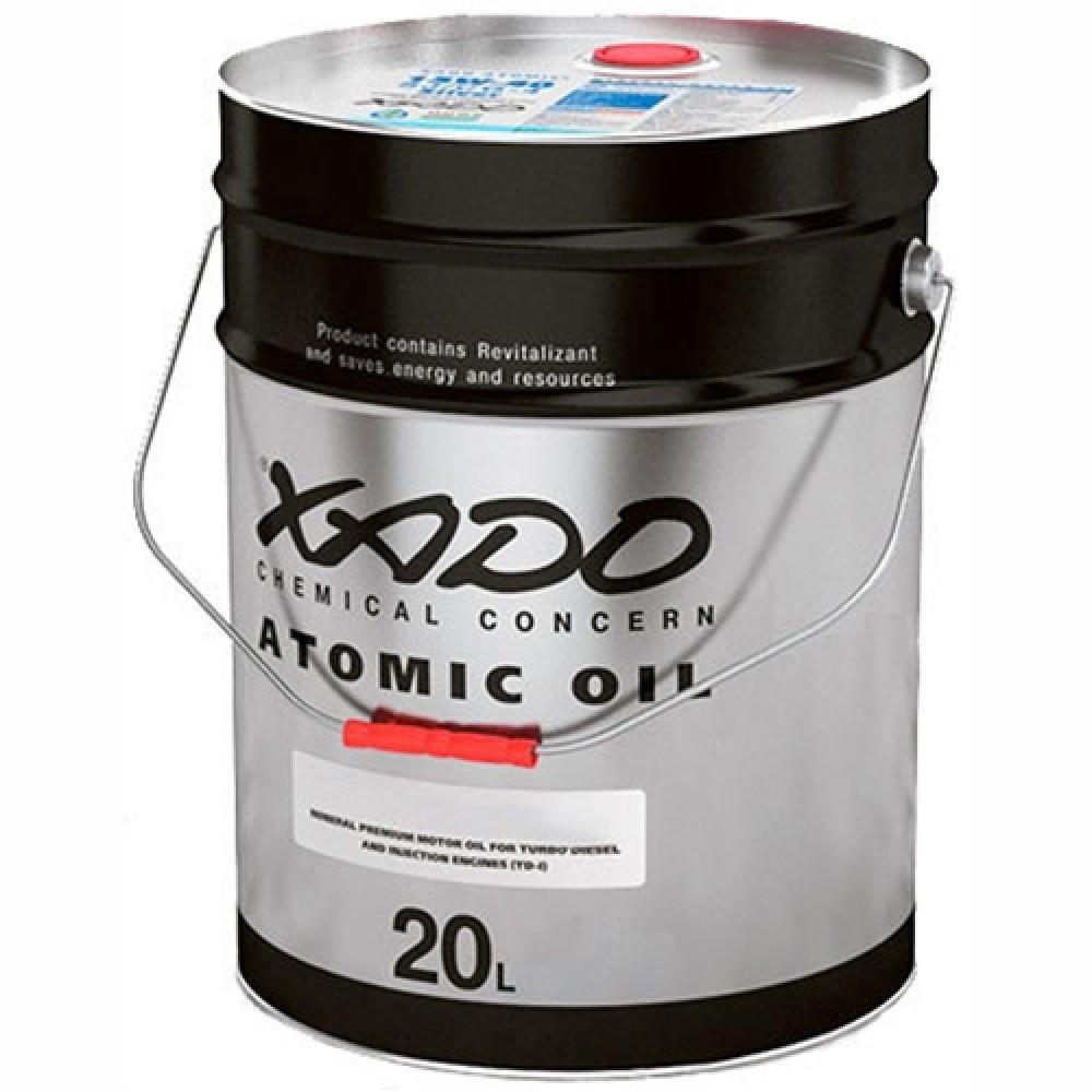 Моторное масло XADO 15W40 20L Atomic CI-4 Diesel минералка SL/CI-4 , A3/B4/E7