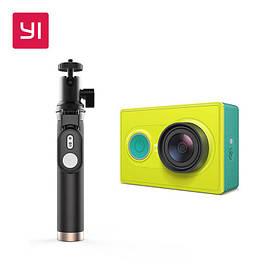 Экшн-камера Xiaomi Yi  Action Camera EU Version + Yi Selfie Stick (монопод) + блютуз