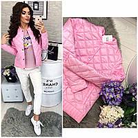 Новинка весна/осень 2018 куртка (арт.310), цвет розовый