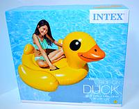 Детский надувной плотик Утка Intex 57556, фото 1