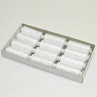 Джинсовые нитки высокой прочности 20/2, 200 ярдов, белые