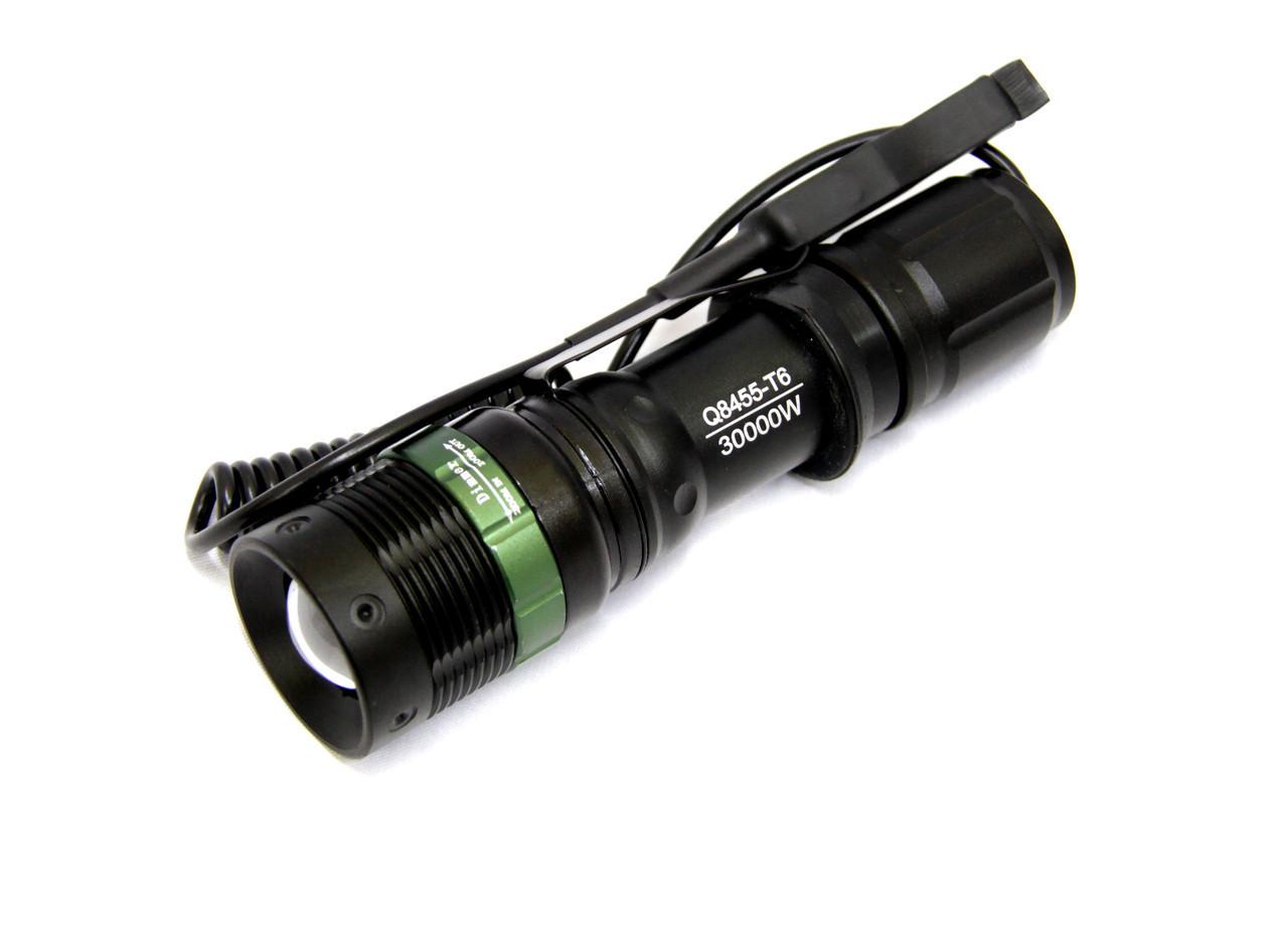 Фонарь тактический для охоты Police BL-8455 XPE Q5