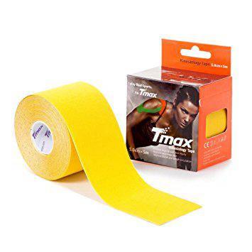 Кинезио тейп Tmax kinesio tape желтый, фото 2