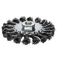 Дисковая проволочная щетка S&R 100 мм (136554100)