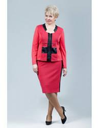 Женский юбочный костюм Petro Soroka МИ-1417-01