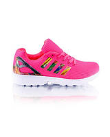 Кроссовки розовые на шнуровке обувь женская яркие обувь для женщин хорошие 7764