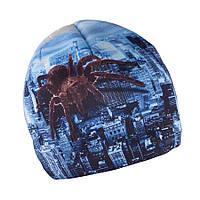 Зимняя шапка для мальчика с принтом TuTu арт. 3-003112 (52-56), фото 1