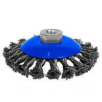 Коническая проволочная щетка S&R 100 мм (136450115)