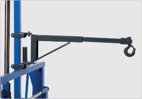 Стрела крана для тормозных дисков/суппортов-опция к тележке для транспортировки, AC Hydraulic, WTK