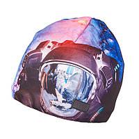 Зимняя шапка для мальчика с принтом TuTu арт. 3-003120, фото 1