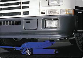Домкрат подкатной 4 т, AC Hydraulic, DK40Q, фото 3