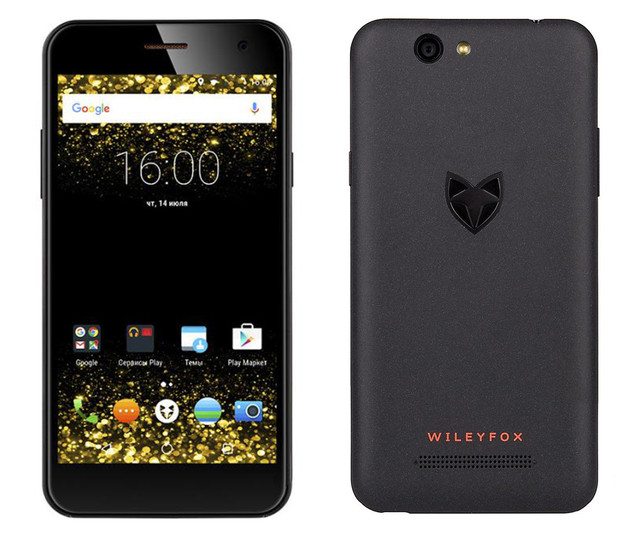Чехлы для Wileyfox Spark Plus