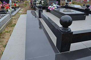 Ограда на могилу гранит №0001