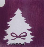 Новогодние трафарет для биотату №54