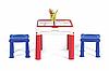Стол для игры с конструктором 3в1 Keter Constructable 17210603, фото 6