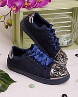 Кроссовки декорированные стразами женская обувь удобные обувь для женщин красивые 15332
