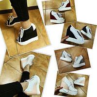 Летние кожаные туфли на платформе Jeffrey Campbell