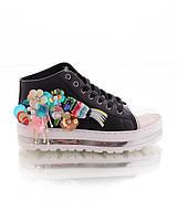 Кроссовки нашивкой в виде птицы обувь женская классные женская обувь  конфискат 15851 59ec2245be5