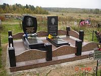 Ограда на могилу гранит №0009