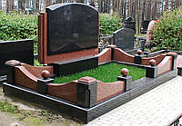 Ограда на могилу гранит №0012