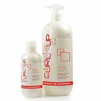 Nouvelle Protein Shampoo Шампунь протеиновый питающий для поврежденных волос ВЕСОВАЯ (Италия) 100мл + тара