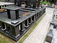 Ограда на могилу гранит №0021