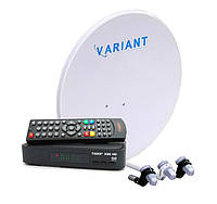 Спутниковый комплект Базовый HD Стандарт
