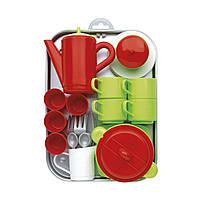 Игровой набор Chef-Cook с посудой и подносом Ecoiffier